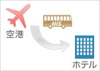 日本語で安心♪ケアンズ空港(国際線)からケアンズ市内ホテルまで片道送迎(混乗)