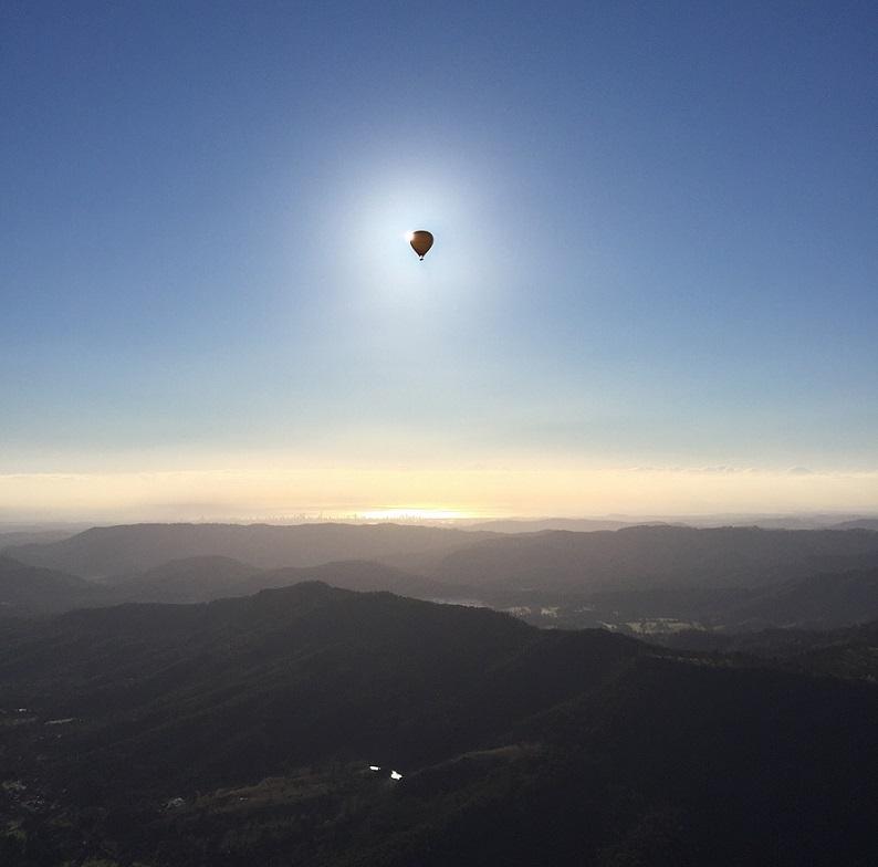 ゴールドコースト / バルーニング熱気球ツアー