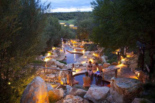 メルボルンの温泉ツアー オプショナルツアー